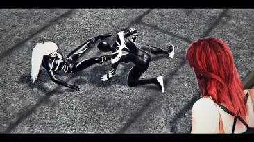 "Spider-Man: Web of Shadows ""Реворк Symbiot Suit Black Cat"""
