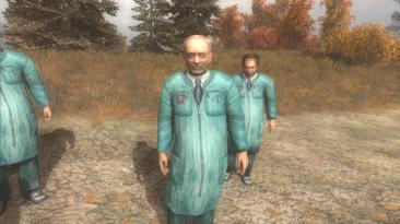 """S.T.A.L.K.E.R.: Call of Pripyat """"Учёные в халатах из Теней Чернобыля"""""""