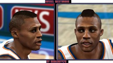 "NBA 2K10 ""Russel Westbrook Cyber Face"""