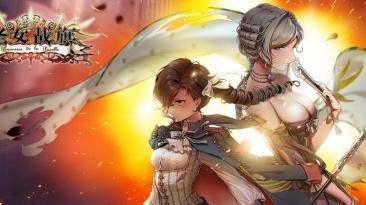 Консольный геймплей стратегической игры Banner of the Maid