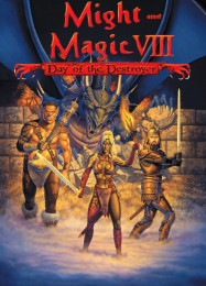 Обложка игры Might and Magic 8: Day of the Destroyer