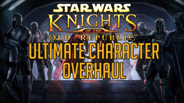 "Star Wars: Knights of the Old Republic ""Графическое улучшение всех персонажей"""