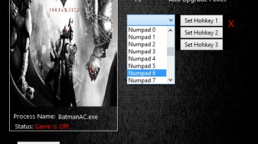 Batman: Arkham City: Трейнер/Trainer (+2) [1.1.0.0] {MrAntiFun}