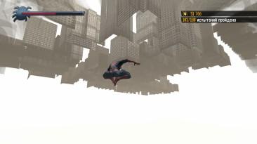 "Spider-Man: Shattered Dimensions ""Выпрыгнул за текстуры"""