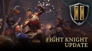 Для Chivalry 2 вышло обновления Fight Knight, добавляющее новые режимы, рапиру, удар головой и косметику на Хэллоуин