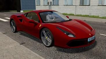 """City Car Driving """"2015 Ferrari 488 GTB (v1.5.9 - 1.5.9.2)"""""""
