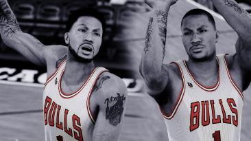 "NBA 2K16 ""Derrick Rose face and hair"""
