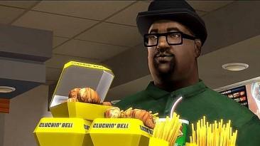 Джефф Голдблюм делает знаменитый заказ Биг Смоука из Grand Theft Auto: San Andreas