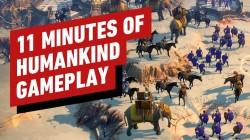Демонстрация 11 минут игрового процесса 4Х-стратегии Humankind