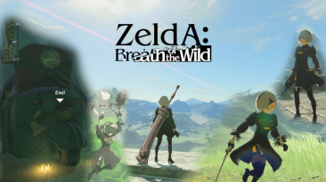 "The Legend of Zelda: Breath of the Wild ""2B из Nier: Automata"""