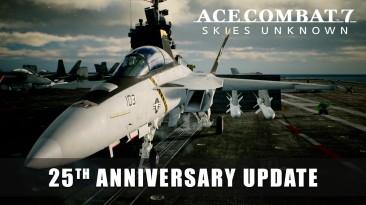Обновление к 25-летия серии Ace Combat выйдет 20 августа