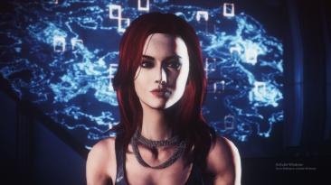 """Mass Effect Legendary Edition """"Красивая модель женского лица в ME2 и ME3"""""""