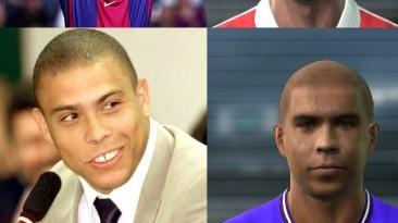 """PES 2011 """"Barselona legends facepack"""""""