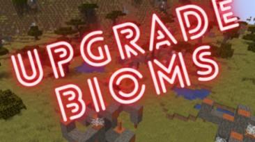 """Minecraft """"Прокаченные биомы"""""""