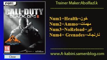 Call of Duty: Black Ops 2: Трейнер/Trainer (+4) [v43.1734.4] {Abolfazl.k}