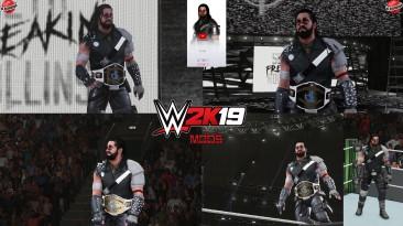 "WWE 2K19 ""Seth The Wanderer 2K20 Порт Наряд Мод"""