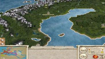 """Rome: Total War """"Barbarian Invasion_new map"""""""