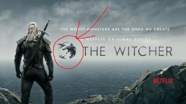 """Witcher 3 """"Иконка - Медальон Волка из сериала Netflix"""""""