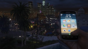 """Grand Theft Auto 5 """"Franklin phone icons """"Gingerbread"""" style"""""""