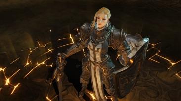 Геймплей за крестоносца с закрытой альфы Diablo Immortal