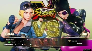 Street Fighter 5 - Прохождение аркады за Lucia