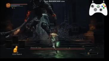 Геймер убил босса из Dark Souls голыми руками!