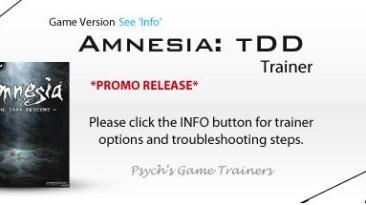 Amnesia: The Dark Descent: Трейнер/Trainer (+8) [1.2] {Psych}