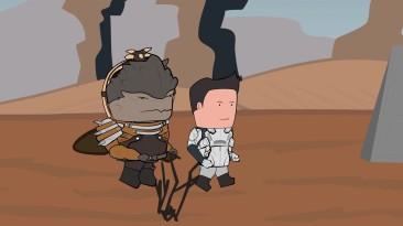 Уэс и Флинн Играют в Mass Effect Andromeda [s02e10]