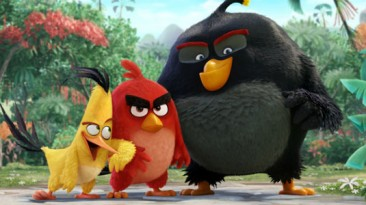 Angry Birds - свежие кадры из предстоящего фильма