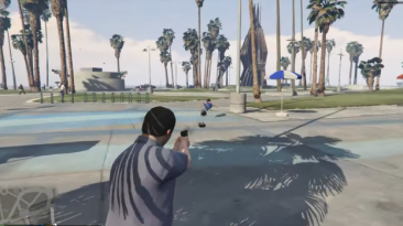 """Grand Theft Auto 5 """"Gravitational weapons"""""""