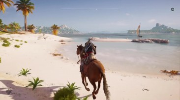 Assassin's Creed: Odyssey - Показали Цербера! Цербер появится в Атлантиде (Трёхголовый Пёс?)