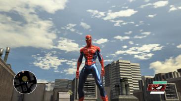 "Spider-Man: Web of Shadows ""PS4 интерфейс (fixed)"""