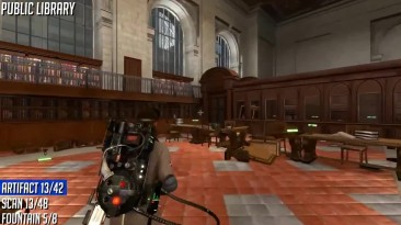 Ghostbusters The Video Game Remastered - Все фонтаны Артефакты и сканы призраков