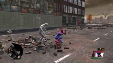 """Spider-Man: Web of Shadows """"Не удачное тестирование скина"""""""