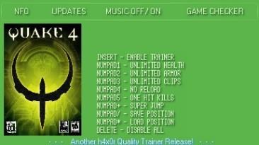 Quake 4: Трейнер (+7) [1.0] {h4x0r}