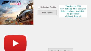 Forza Horizon 4: Трейнер/Trainer (+1: Бесконечные кредиты) [v.1.239.620.2] {ManiacKnight}