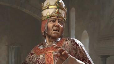 Фанат Crusader Kings 3 победил в дуэли Папу Римского с помощью топоров