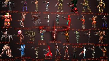 "Quake 3 Arena ""Набор моделей Best of Quake 3 Pack"""