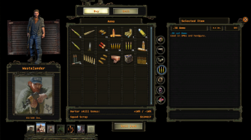 """Wasteland 2 """"Ребаланс мода Red Boots + русификатор"""""""