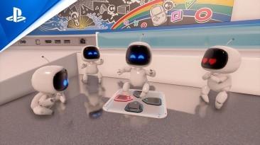 Создатели Astro's Playroom тизерят что-то новое - вышел хвалебный трейлер игры