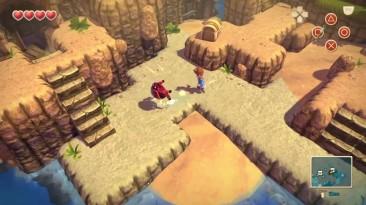 "Oceanhorn ""Геймплей PS4"""