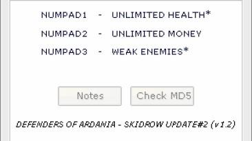 Defenders of Ardania: Трейнер/Trainer (+3) [1.0/1.1/1.2] {HoG/Hatschi}
