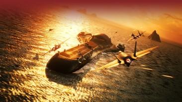 Вышло дополнение Ten Million Relief Plan для Ace Combat 7: Skies Unknown