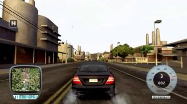 "Test Drive Unlimited ""Новый звук Mercedes-Benz CLK 55 AMG"""