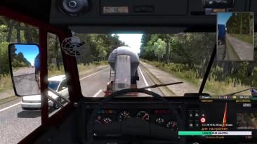 Euro Truck Simulator 2. Суровая Россия. Сибирь Рейс с Иркутска