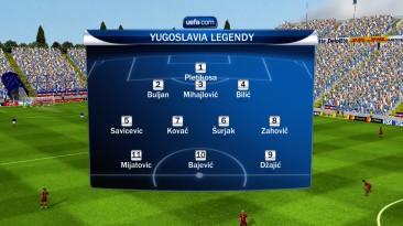 """FIFA 10 """"Легенды Югославии"""""""