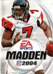 Обложка игры Madden NFL 2004