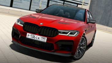 "City Car Driving ""2021 BMW M5 CS (F90 LCI) Update (v1.5.9.2)"""