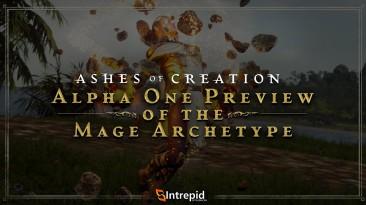 """Способности класса """"Маг"""" в новом ролике по Ashes of Creation"""