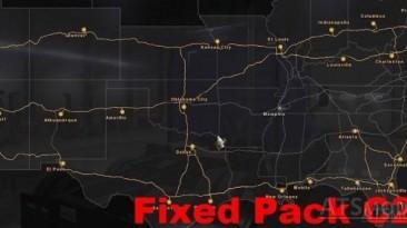 """American Truck Simulator """"Coast to Coast Corrected Fix / От побережья до побережья (исправление ошибки)"""